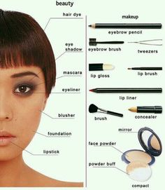 Beauty and #makeup vocabulary