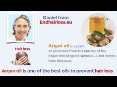 Is Argan Oil Good For Hair Loss ? Video Stop Hair Loss, Prevent Hair Loss, Argan Oil For Hair Loss, Best Oils, Grow Hair, Youtube, Grow Longer Hair, Youtubers, Make Hair Grow