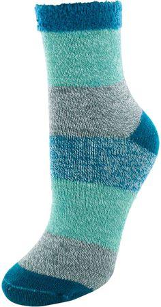 Muk luks dark brown fluffy cabin socks cabin socks dark for Warm cabin socks