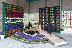 flowering walls with Primula Touch Me Brainstorm, Event Styling, Art Director, Behance, Rugs, Artwork, Presentation, Pictures, Walls