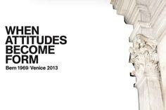when attitudes become form (Fondation prada - Venise)