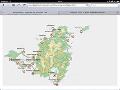Map of St Maarten online on our website , all the spots included in our day tour  Hope to see you soon in St Maarten. We organise the best tours to spend your day on the island. Robinson speed boats tours. Discovery the islands with us , visit our website www.boat-charter-stmartin.com