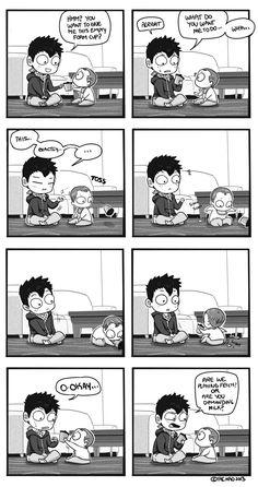 Mondo Mango :: Babysitting   Tapastic Comics - image 1