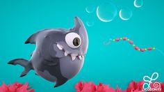 Sharky - toony render Polar cinema4d illustration