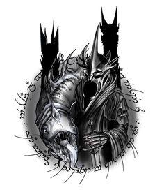 Nazgul Hobbit Tattoo, Lotr Tattoo, Medusa Tattoo, Ian Mckellen, Most Popular Instagram, Dark Lord, Lord Of The Rings, The Hobbit, Two By Two