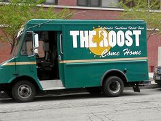 The Roost food truck (fried chicken and biscuits)