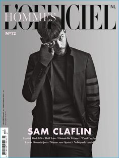Sam Claflin covers the winter 2016 edition of L'Officiel Hommes Netherlands.