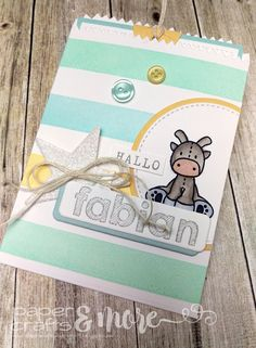 Paper Crafts and More ...: #18 - Hallo Fabian