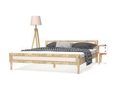 vidaXL Postelný rám z mangového dreva, 180x200 cm Toddler Bed, Couch, Bedroom, Furniture, Home Decor, Bed Frames, Mango Tree, Solid Wood, Bed Frame