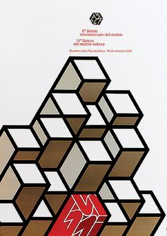 salone poster 1974, Alberto Longhi.