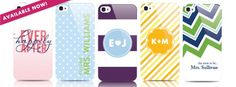 Cute iPhone cases for the bride-to-be! Also great gift for bridesmaids!