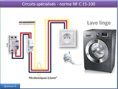 schema de cablage circuits sp cialis pour une cuisini re induction lectricit maison. Black Bedroom Furniture Sets. Home Design Ideas