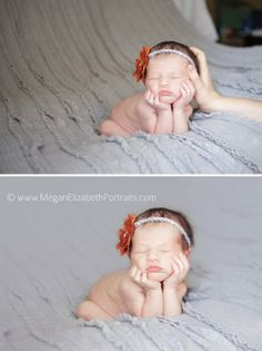 Safety and sweetness should be the stars of your newborn photo shoot.