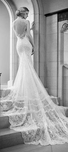 martina liana fall 2015 lace wedding dress with open back