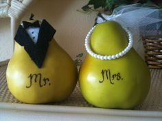The Perfect Pair bridal shower decoration