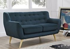 Blueberry Pie Regard Love Seat #loveseat #contemporary #interiordesign #furniture #homerenovation