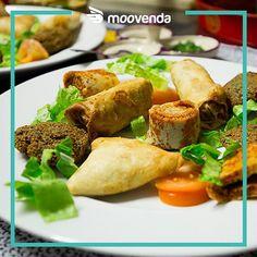 #nuovopartner Mai provata la cucina eritrea? Usando il codice 54INSTA su Moovenda.com puoi riceverla a casa tua con il 10% di sconto #moovendiamo #samosa #gored #food #veg #cucinaeritrea #eritrea #desideriadomicilio