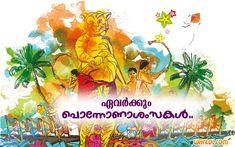 Happy Onam Images In Malayalam Happy Onam Images, Diwali Images, Onam Festival, Stock Photos, Digital, Painting, Free, Sample Resume, Royalty