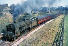 45505 at Wennington April 1962 | The LMS-Patriot Project