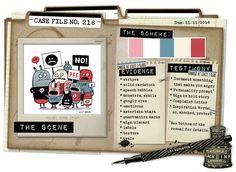 Case File 216 CSI color stories inspiration
