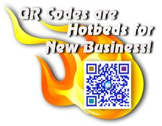 QR Codes are Hotbeds for new business! Your customers take your business with them wherever they go!(Sample only)