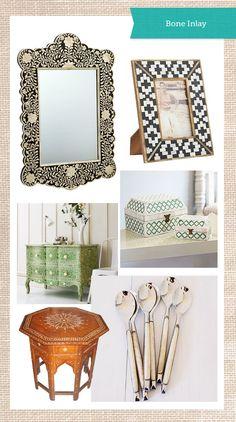 Bone Inlay Furniture & Accessories