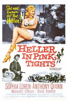 Directed by George Cukor. With Sophia Loren, Anthony Quinn, Margaret O'Brien, Steve Forrest. Story of theatrical troupe that travels through the Old West. Carlo Ponti, Pink Tights, Movie Talk, Anthony Quinn, Sophia Loren, Cinematography, Filmmaking, Documentaries, Movies