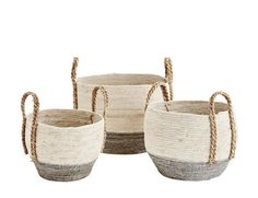Our Grey Base Wicker Baskets are woven with strong braided handles. In a choice of 3 sizes these Danish designs are perfect for all kinds of storage around your home. Lovely Shop, Danish Design, Wicker Baskets, Images, Base, Grey, Vintage, Objects, Home Decoration