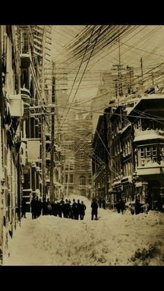 New York City Blizzard of 1888...more than 400 people died.