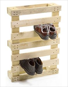 DIY Ideas for Pallets | Home Ideas , DIY Wood Pallet – 20 Creative Furniture Idea : Shoes ...