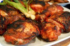 Poulet grillé tandoori, recette au poulet tandori à table