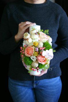 Flovers of Soul Flowers, Desserts, Crafts, Tailgate Desserts, Deserts, Manualidades, Postres, Dessert, Handmade Crafts