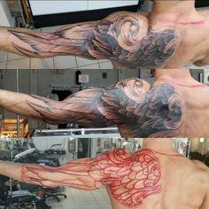 33 Ideas Tattoo For Guys Wings Tatoo Tribal Tattoos, Tattoos Skull, Feather Tattoos, Trendy Tattoos, Celtic Tattoos, Star Tattoos, Body Art Tattoos, Dreamcatcher Tattoos, Wing Tattoo Men