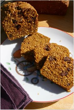 Pumpkin Bread with Millet and Chocolate
