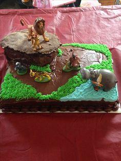 Lion Guard Cake.