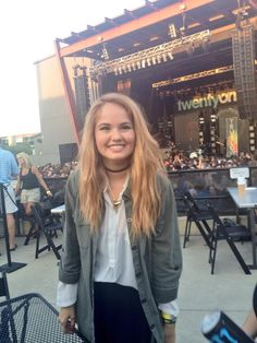 debby at a top concert aw