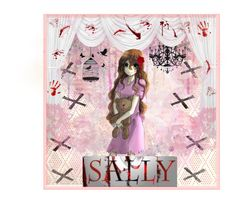 """""""Sally"""" by ender1027 ❤ liked on Polyvore featuring art"""