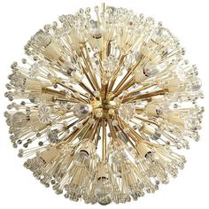"A Mid Century Emil Stejnar ""Starburst"" Chandelier 