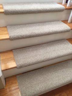 Montauk Linen Short Shag True Bullnose™ Padded Carpet Stair Tread – For Safety Comfort Dog Cat Pet (Sold Each) – shag carpet Plush Carpet, Shag Carpet, Beige Carpet, Diy Carpet, Rugs On Carpet, Carpet Ideas, Carpets, Brown Carpet, Modern Carpet