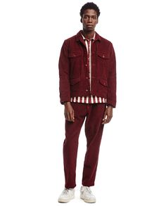 We Are Selecters · Bordeaux velvet structured jacket by SUNNEI