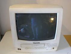 "Panasonic PV-C1351W 13"" CRT Combination TV VHS VCR ~ Watch Demonstration Video"
