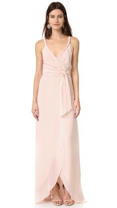 Joanna August The Parker Twist Strap Wrap Dress | SHOPBOP