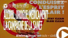 #VIDÉOBRÈVE #Alcool, #drogue, #médicaments : la campagne de la #sanef: Alcool, drogues, médicaments, ces substances… pour + d'infos/vidéo