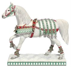 Trail of Painted Ponies Christmas Silver Bells Horse Retired 02/10