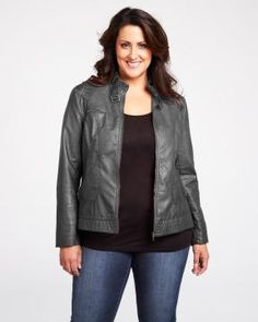 william rast vegan leather jacket via AdditionElle I bought this and I love it the fit hugs all the right places a good staple for fall