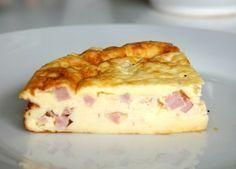 Recette de quiche lorraine rapide facile, délicieuse et légère car sans pâte!