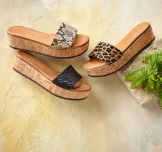 Isle Of Palms Flatforms - Fun and easy, flatform sandals with a laid-back vibe and comfortable, padded leather footbeds.