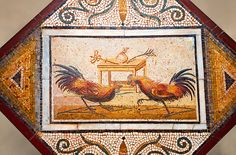 Pictures of Roman Mosaics, Naples Archaeological Museum - Stock Photos | Photos Gallery
