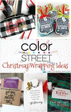 I am a Color Street Easy Diy Gifts, Homemade Gifts, Christmas Colors, Christmas Nails, Holiday Gifts, Color Street Nails, Christmas Gift Wrapping, Winter Colors