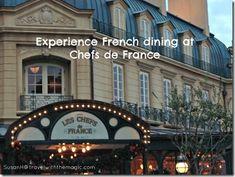 Chefs de France Restaurant at Epcot's France Pavilion